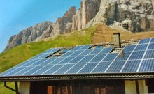 solar-panel-on-the-roof-in-the-mountains